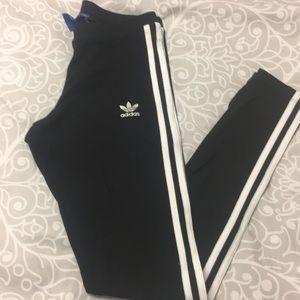Adidas stripe leggings